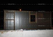 Металлическая бытовка БЖ-01 ДВП г.Ельня фото